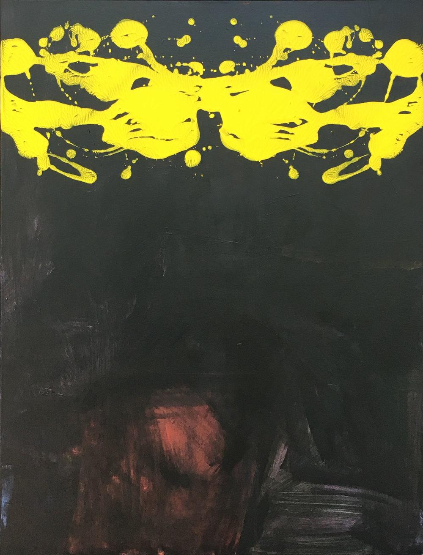 """""""Hope"""" Acrylic on Canvas 2017"""