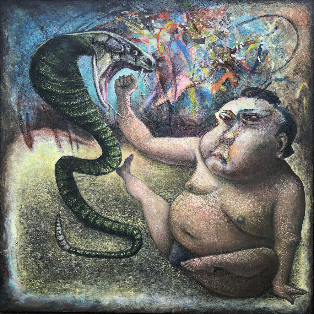 """""""The Snake And The Sumo"""" 2018"""