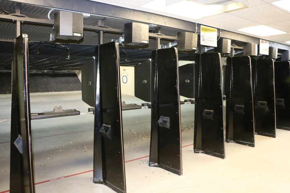 14 Lane State-Of-Art Firearms Training Range