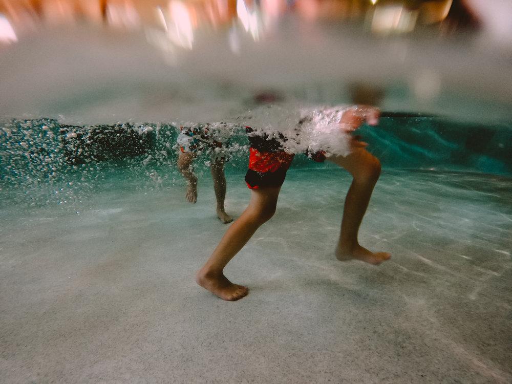 july 27. underwater