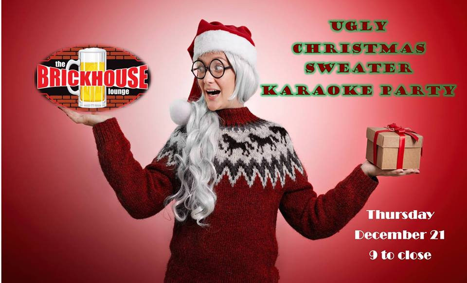 Ugly Christmas Sweater Karaoke — Inspired by Hastings