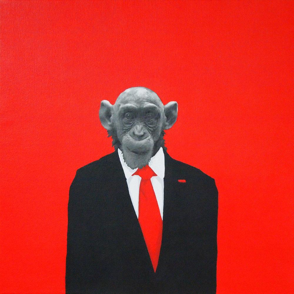 2012 Politician acrylic and photo on canvas 24x24 SOLD.jpg