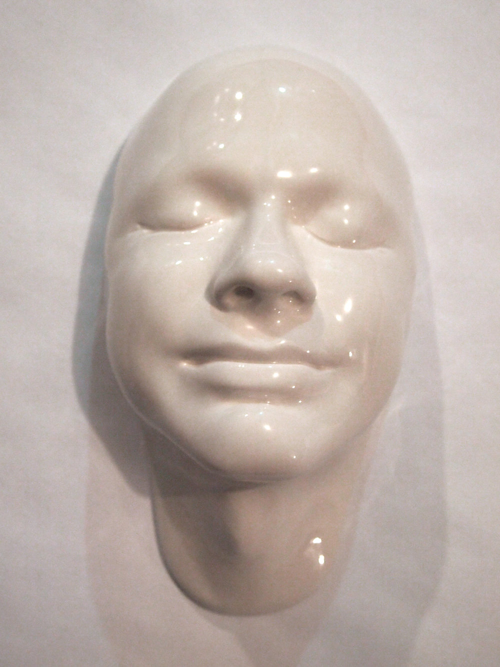 Craig Paul Nowak ceramic face art