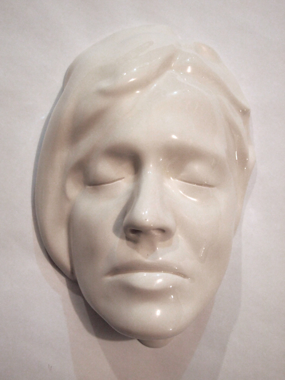Craig Paul Nowak ceramic face art sculpture alexandra