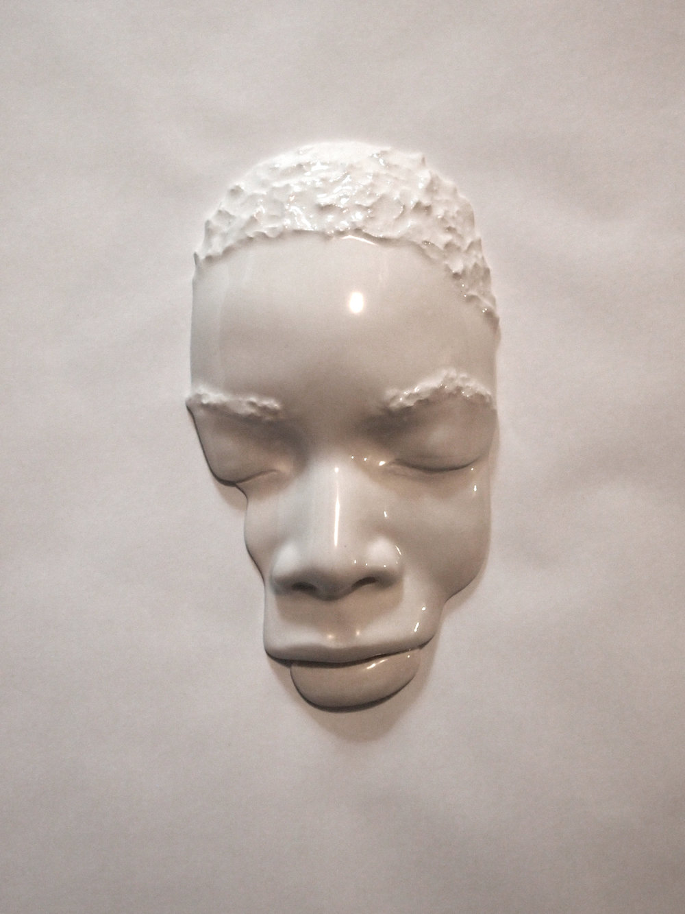 Craig Paul Nowak art sculpture face