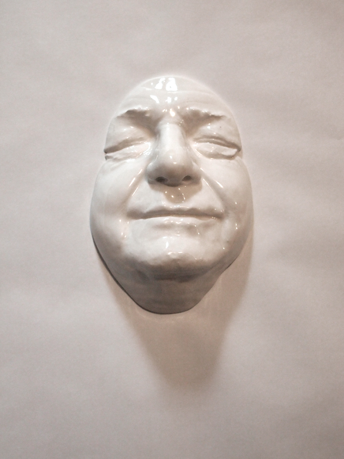 Craig Paul Nowak art face sculpture