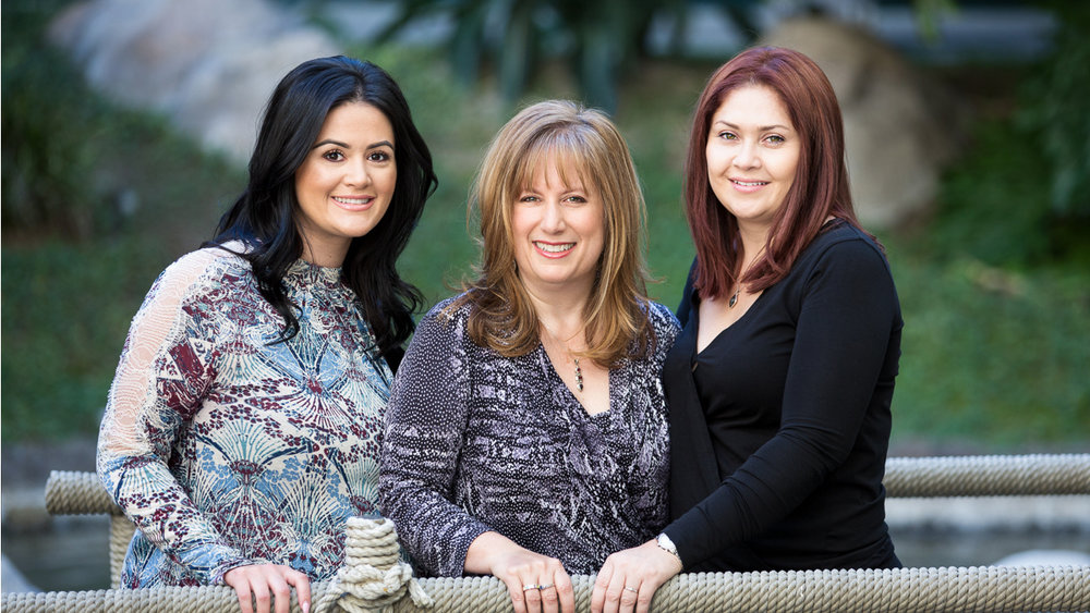 The Stress Free Mortgage team - Linda, Suley and Dee