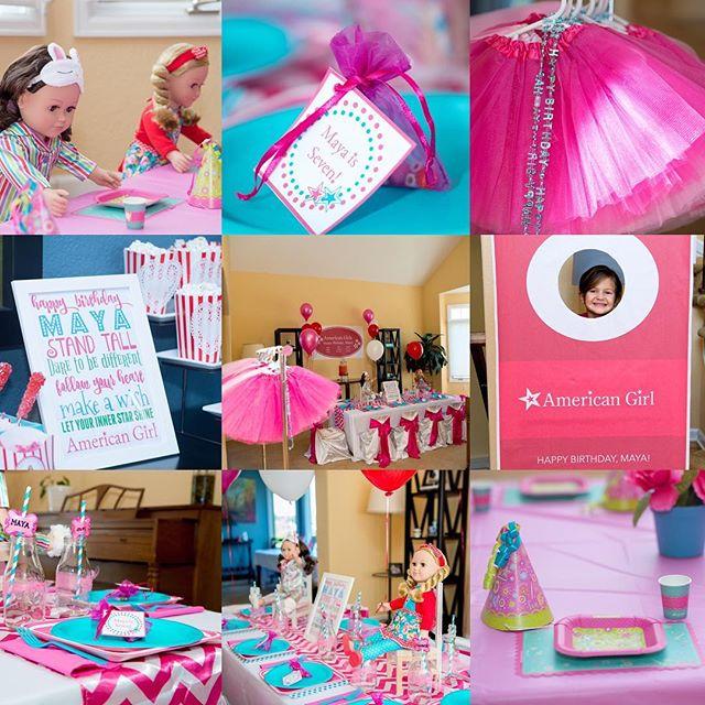 American Girl Bash!! A Simply Perfect Parties Birthday is a sure thing in throwing an epic, unique and memorable birthday experience. The girls at this party (and their dolls!), loved every minute. Photos courtesy of @heidihowardphotography #bestbirthdayever #americangirl #americangirlparty #girlsrock #birthdaybash #coloradomoms #coloradokid #boutiqueparties #abirthdaytoremember
