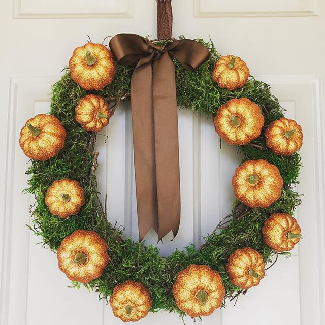 "It's still warm enough to head to the swimming pool, but at @simplyperfectparties we are getting all ready for Fall. Football, apples, Oktoberfest and Halloween are just some of our favorite ways to celebrate. We crafted up these festive wreaths to help you get in the Fall spirit too! Perfect from early Fall all the way through Thanksgiving. 18"" wreath -$40. Text/call 314.651.1878, send us a FB message or email at partyboss@simplyperfectpartiesco.com to place your order. Happy Fall!"