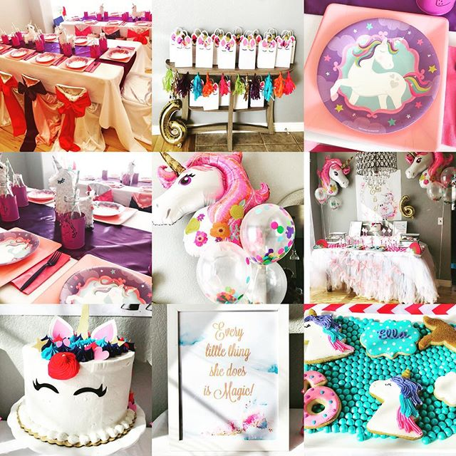Unicorns and rainbows, it was a magical 6th Birthday Party for a one of a kind little girl!!! 🌈🦄🎉 #kidsparties #kidsparty #kidspartyplanner #bouldercolorado #unicornparty #unicorncake #coloradokid #unicorn #magicalcreatures #6thbirthday #everylittlethingshedoesismagic