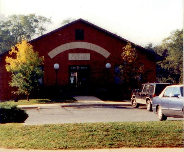 The Current North East Library   In 1991 a full service branch of the Public Library was opened.  As the North East community has expanded so have the demands on the current library.