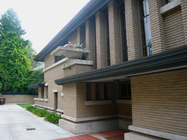 Designed By Frank Lloyd Wright In 1909, The House Was Designed And Built  Just As Wrightu0027s Marriage Was Falling Apart And He Was Soon To Depart To  Europe To ...