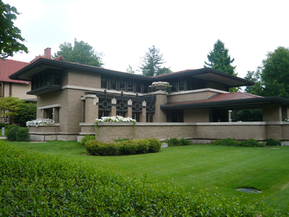 Frank lloyd wright 39 s meyer may house grand rapids - Interior design jobs grand rapids mi ...