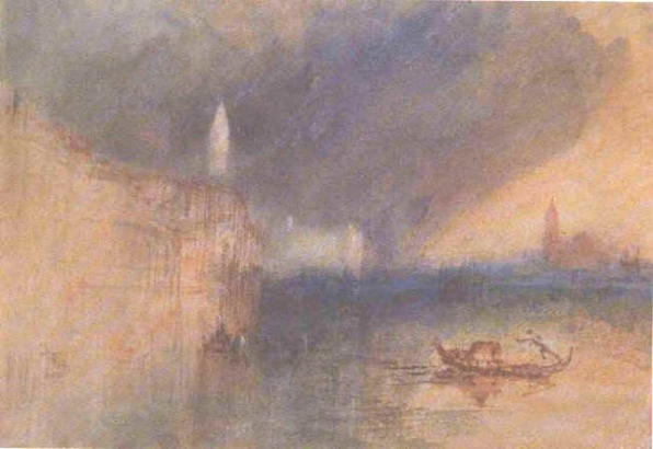 Turner The Grand Canal