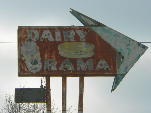 dairy rama sign