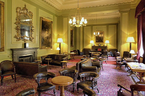 Travelers Club London Smoking Room by csabagaba