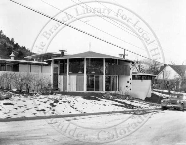 Jesser House, designed by Tician Papachristou, 1959, Boulder, Colorado
