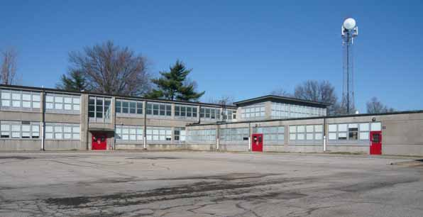 Waggener High School, original building