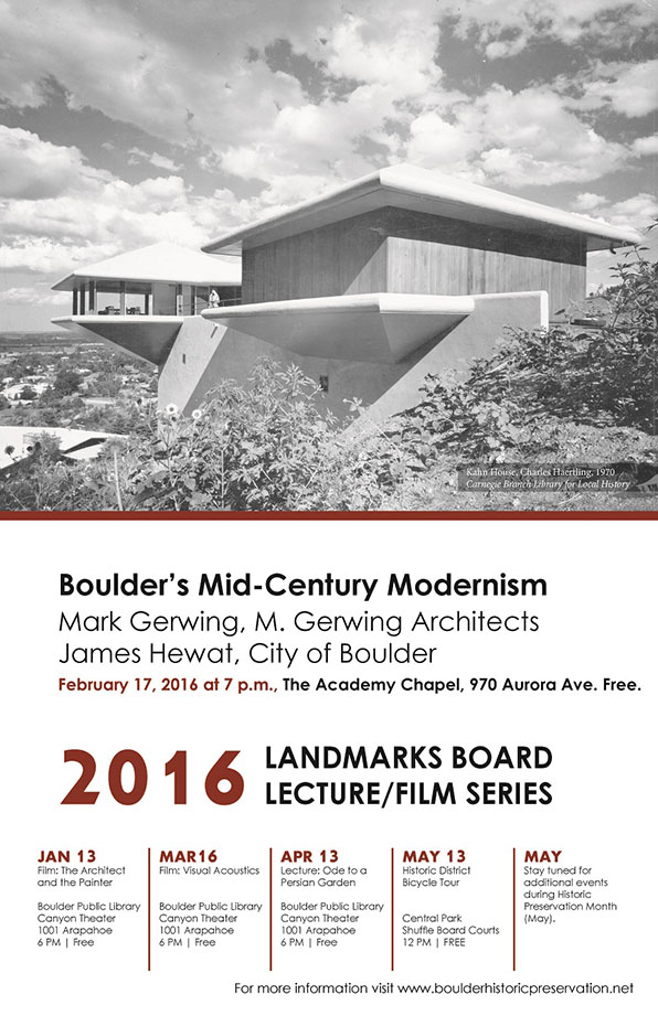 MCM Lecture - 2016 LB Lecture Film Series blog
