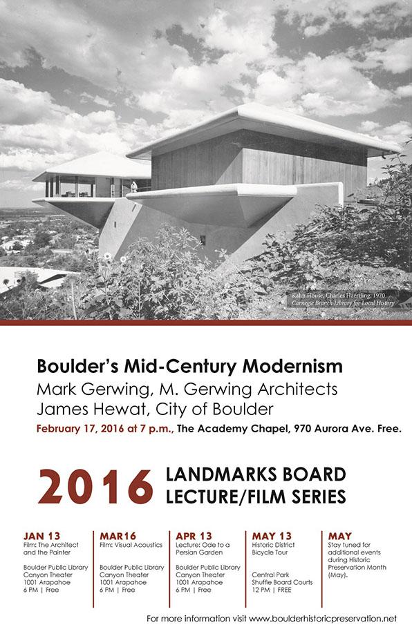 MCM Lecture - 2016 LB Lecture Film Series blog