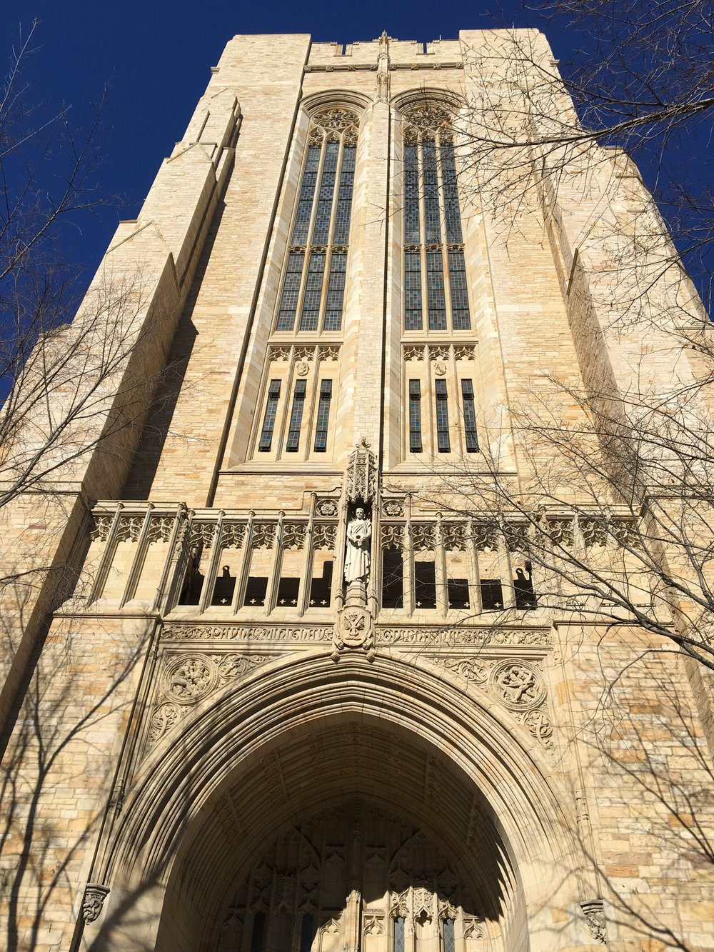 Yale University gym