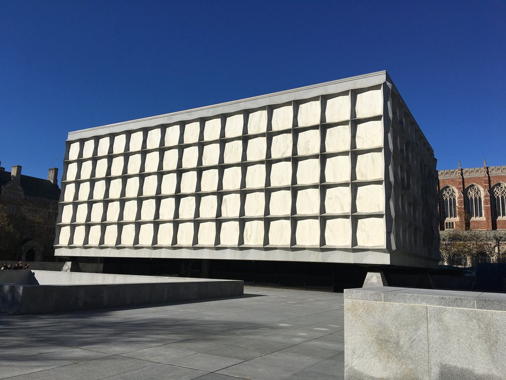 Beinecke Library, front