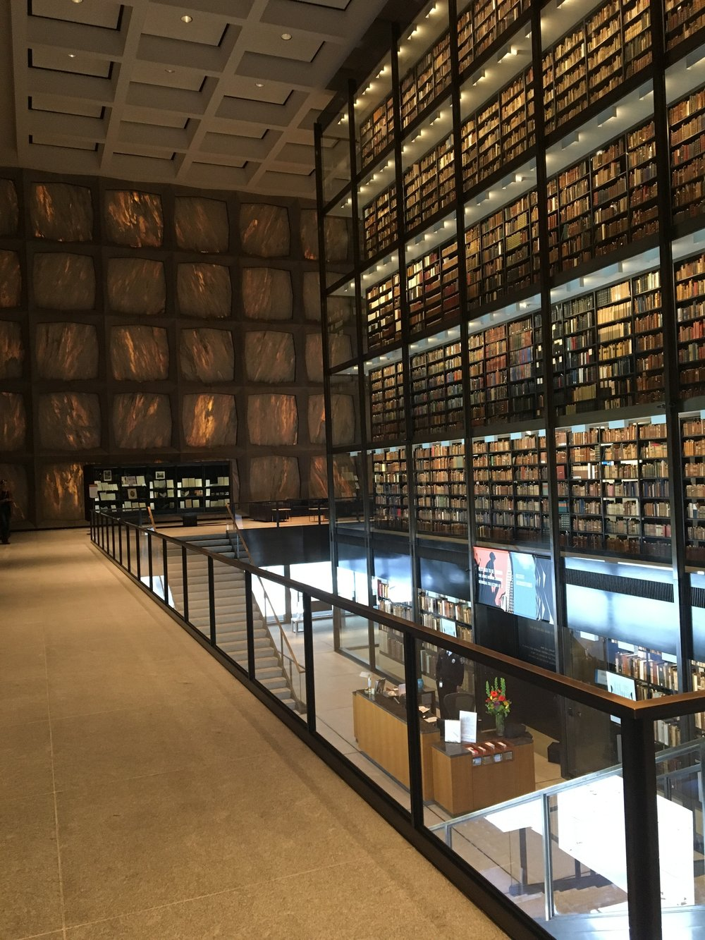 Beinecke Library, interior