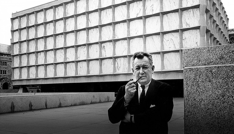 architect Gordon Bunshaft (image from SOM)