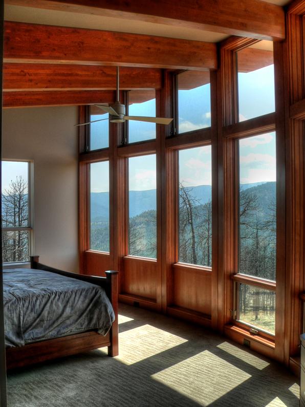 Sunshine Canyon house, living room