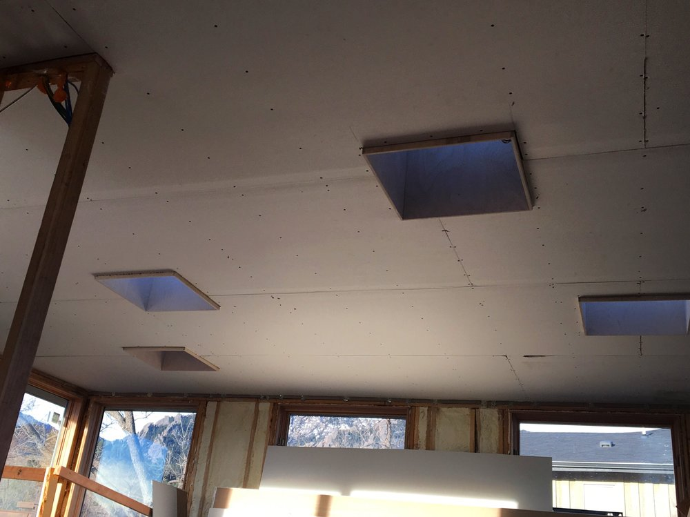Vassar Drive project skylights
