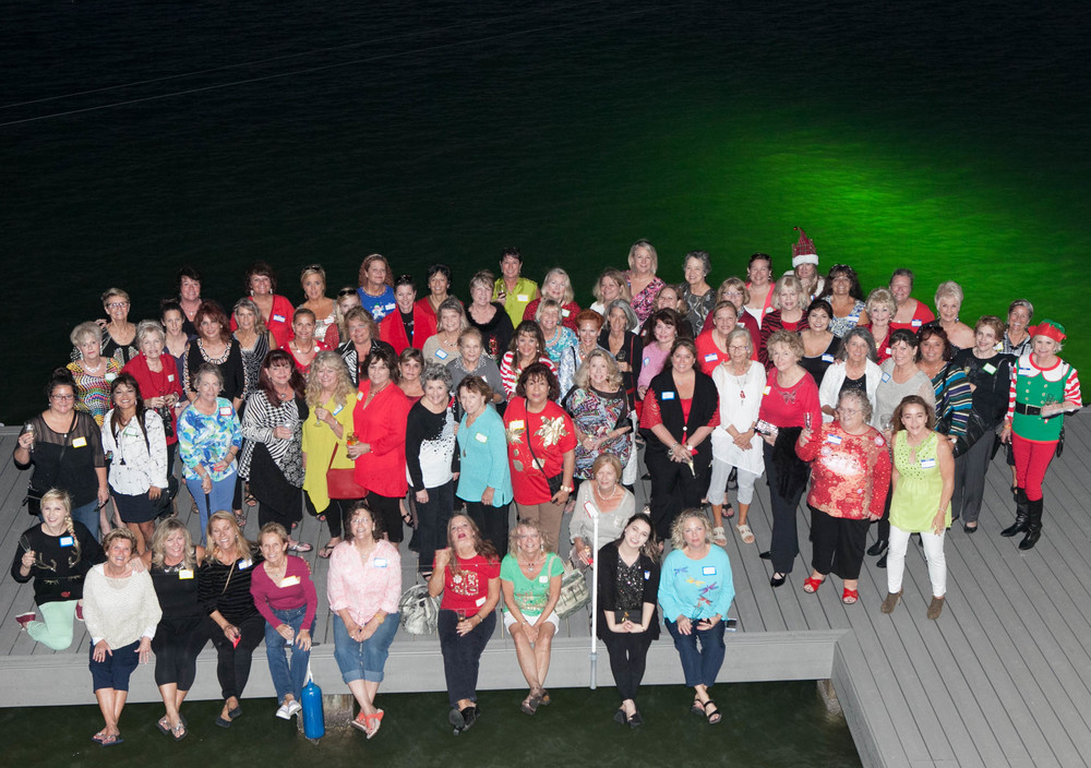 About 80+ members of the Ladies 5:01 Social Group on the deck of our house! My wife Anna is a former volunteer Social Coordinator for this wonderful group of women.