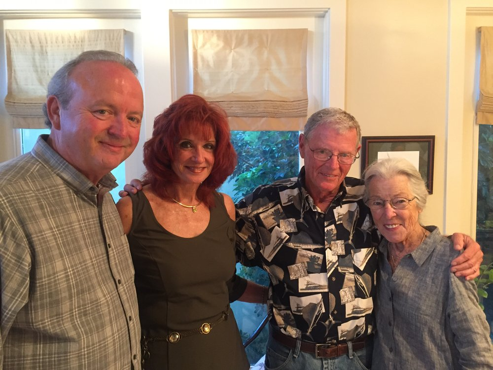 Anna and I with US Senator R (OK) Jim Inhofe and his wife Kay. Some people describe him as Texas' third US Senator. He's developed bay front properties early in his career on South Padre Island, maintains a residence and they make frequent Island visits.