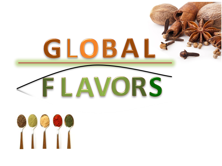 Global Flavors     World cuisines are defined by traditional ingredients, seasonings, and cooking practices that evolved within a particular geographic area. Ethnic cuisines, a term often used to distinguish this style of cooking from more familiar foods, is a cultural experience that is difficult to recreate when removed from the nuances of the land, ingredients, and people that comprise its heart and soul. But given insight and understanding of the unique characteristics that make up a cuisine, we can recreate authentic tasting food that comes close to its spirit.