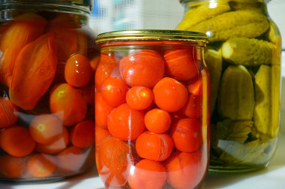 Pickling is done either with acids or by lacto-fermentation