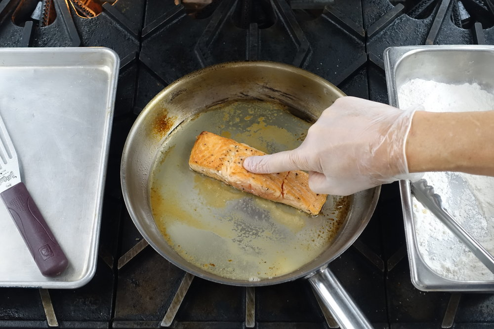 Touch Method for Small Cutlets and Fillets