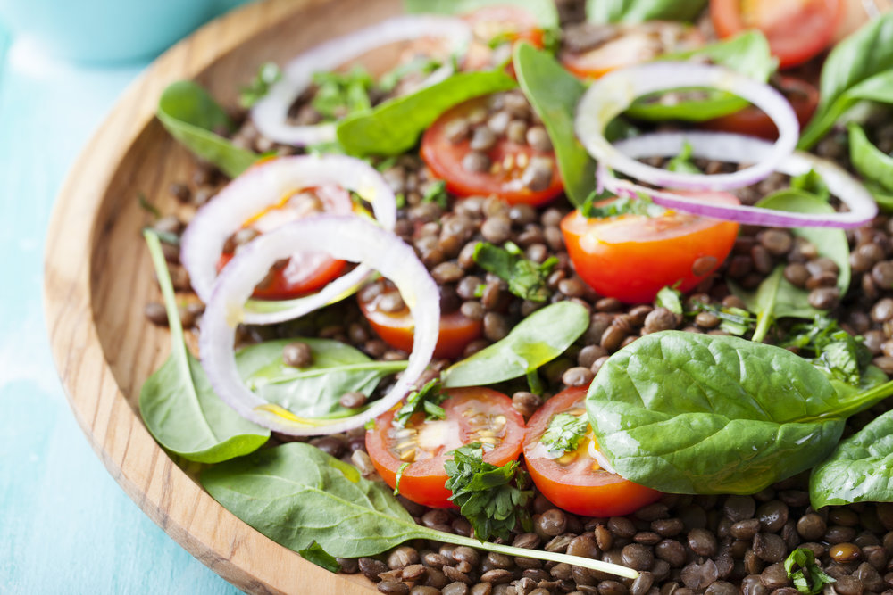 French Lentil Salad