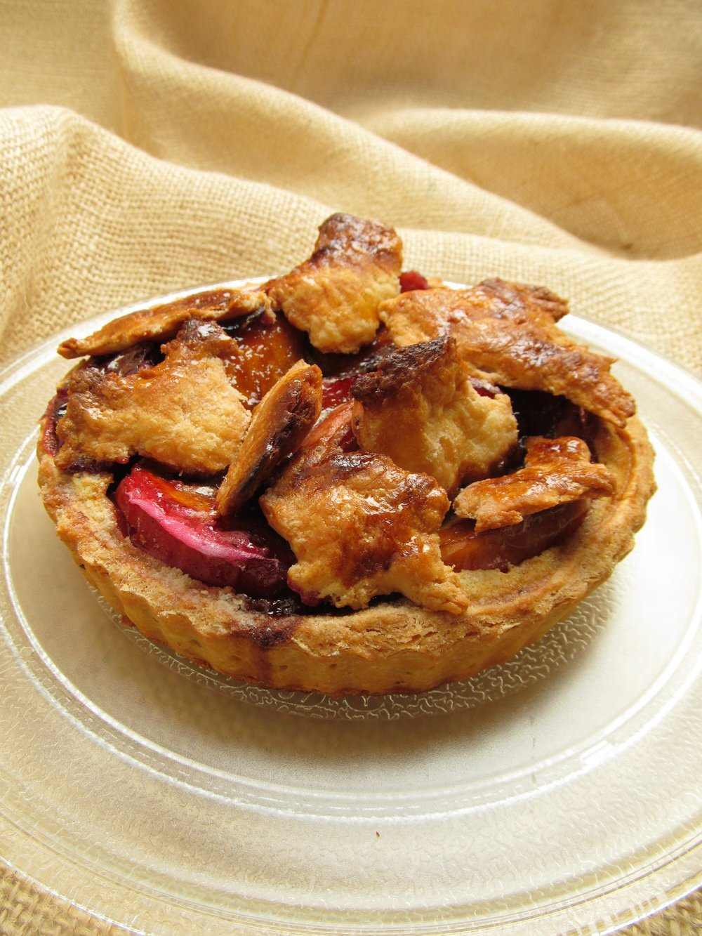 Rhubarb-Apple Tart