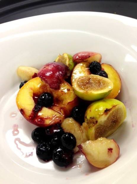 Roasted Summer Fruits