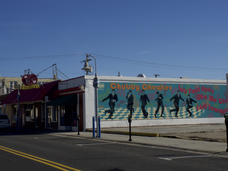 "During the summer, Romeo's Pizzeria on Pacific Avenue, serves pizza from 5 p.m. to 5 a.m., specializing in slices for the sauced since 1975. Last September, Wildwood's tourism board dedicated the 12-by-40-foot ""Twist Again"" mural in Romeo's parking lot to Chubby Checker, who first performed his iconic dance at the Rainbow Club in 1960."