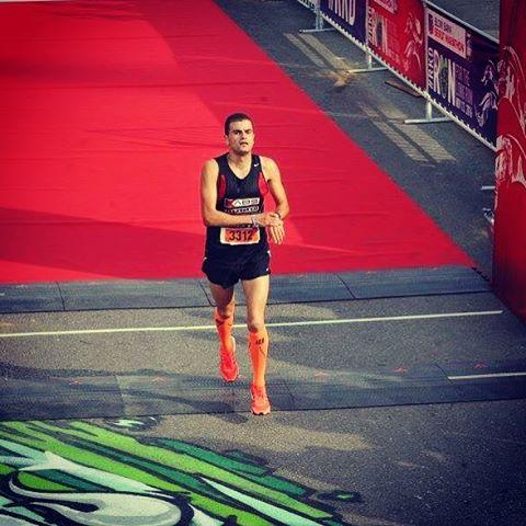 Mo'ath al-Khawaldeh, Jordanian Olympic marathon hopeful.