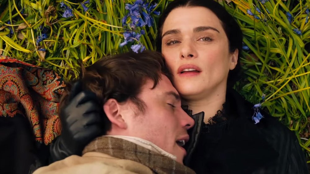 A dark and layered romance, My Cousin Rachel tells the story of a young Englishman who plots revenge against his mysterious and beautiful cousin, believing that she murdered his guardian.