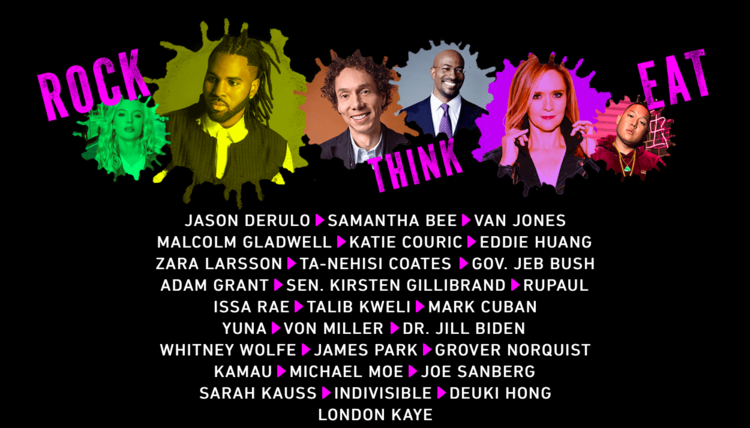 OZY Fest,the second annual interactive outdoor festival will return to New York with performances by Jason Derulo, Samantha Bee, Issa Rae, RuPaul, panels, food and the latest Good Sh*t to own.