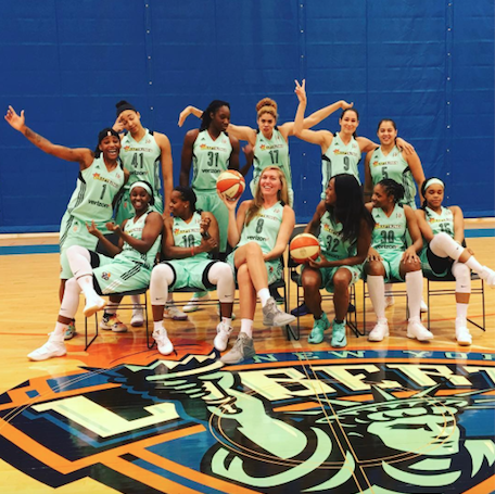 The New York Liberty are back playing at Madison Square Garden.