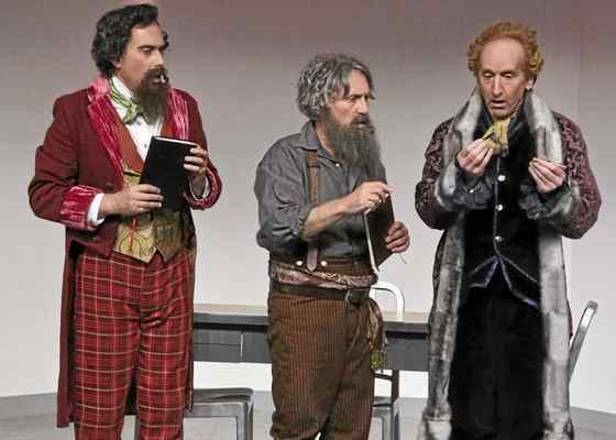 """See if Tolstoy, Dickens and Jefferson have it all figured out in their gospels, a new play by """"Real Time with Bill Maher,"""" producer Scott Carter."""