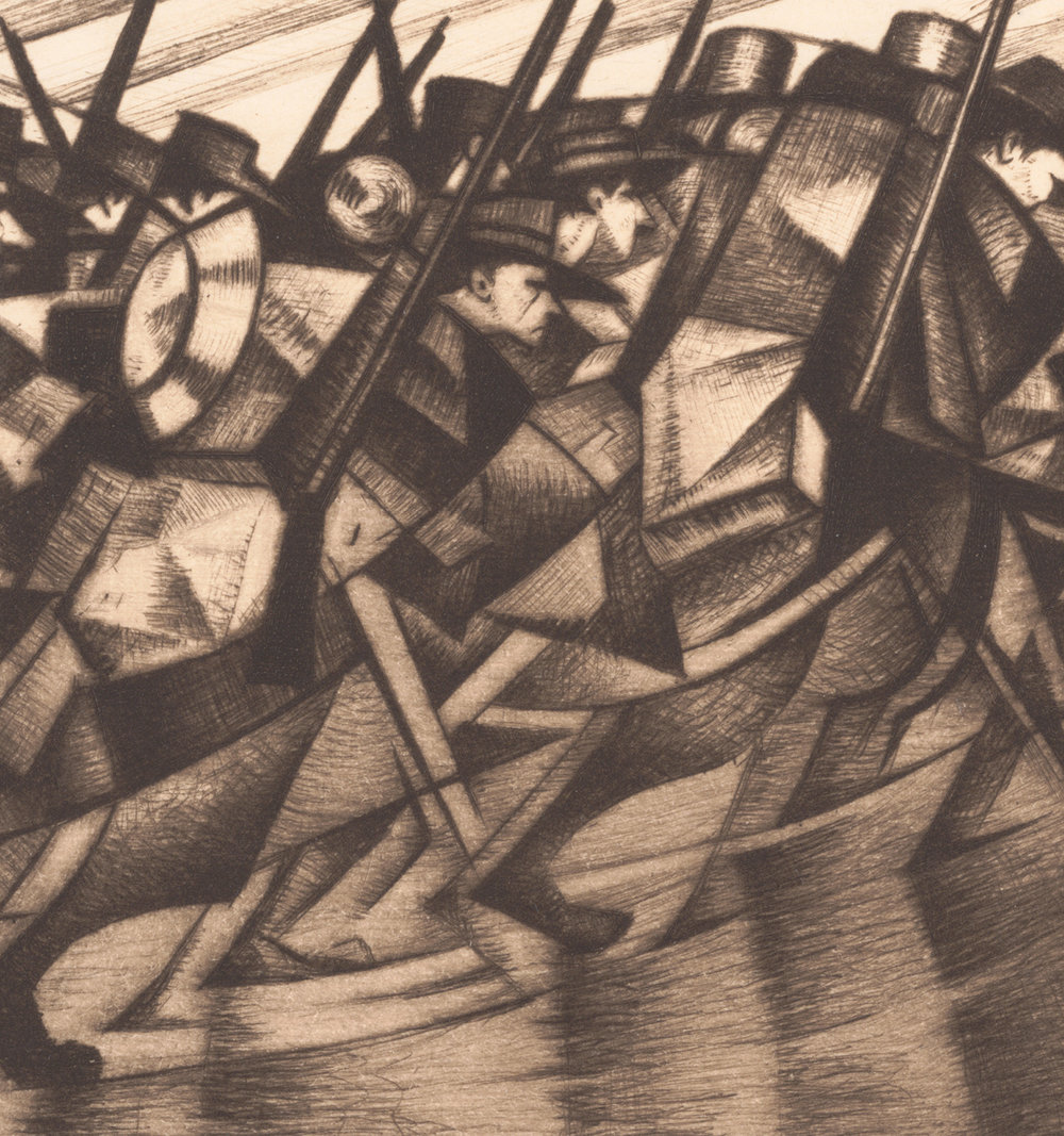 It's the 100th anniversary of World War I, and many museums have exhibits, including the Met. See World War I and the Visual Artsfor a diverse take.