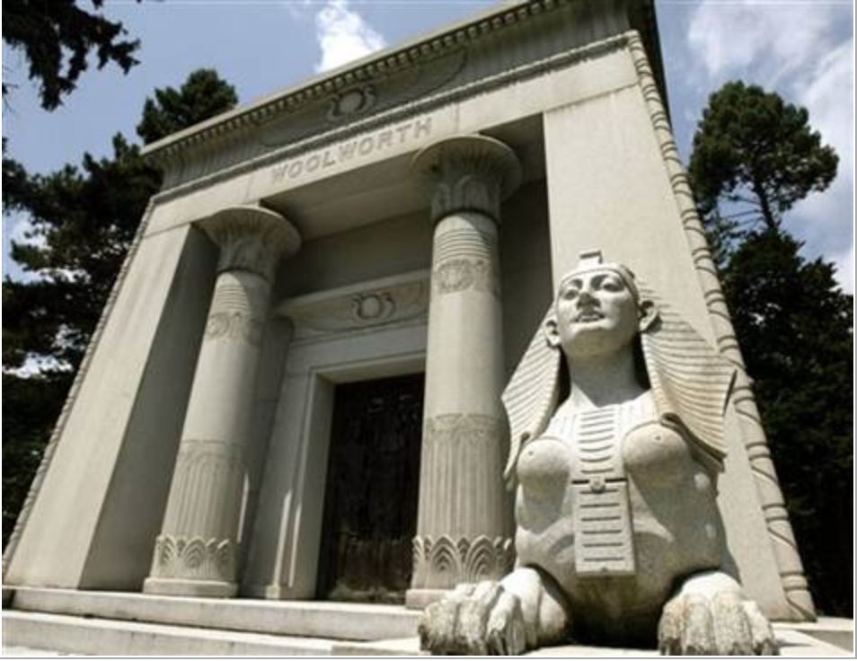 Step inside some of the country's most opulent family mausoleums during a Halloween visit to Woodlawn Cemetery with the New York Adventure Club.