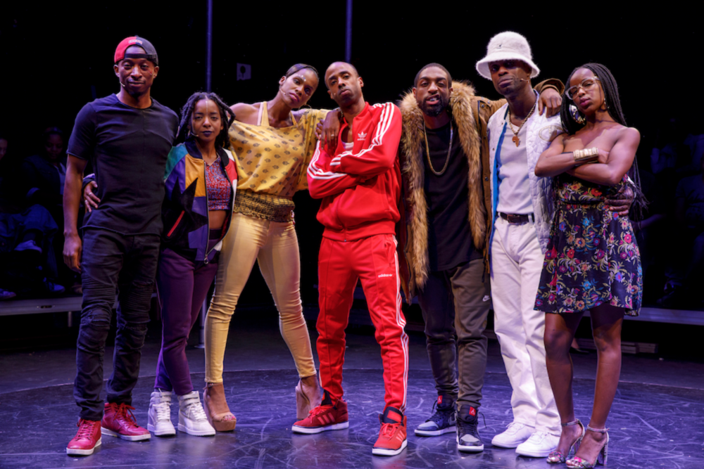 Gordon thinks learning how to rap will gain him respect. But his journey torhyme will take him deeper into his legacy and his purpose in Syncing Inkat the new Flea Theatre.