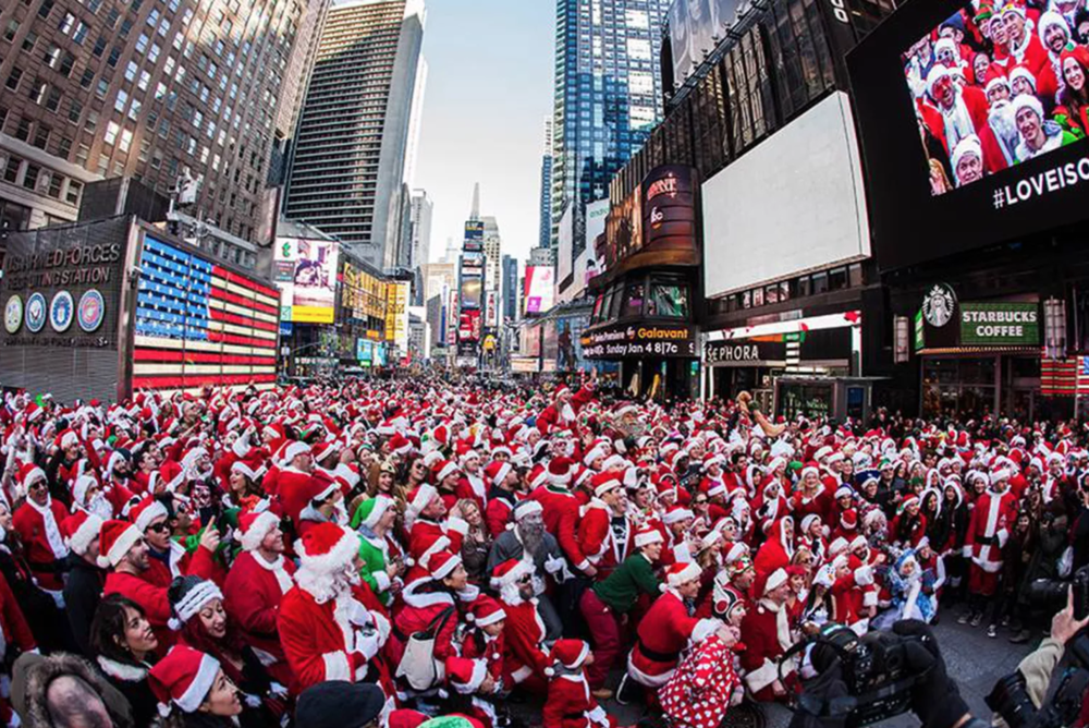 The hoards of Santacons await you this weekend. Be safe!