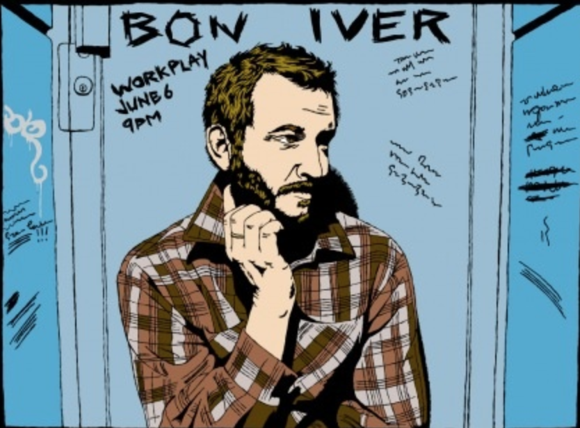 Join Bon Iver at Town Hall for a taping of Prairie Home Companion