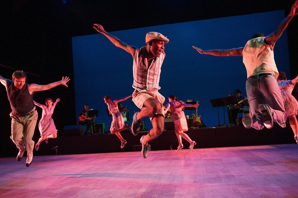 MacArthur Award-winning tap dancer Michelle Dorrance leads a company performing at The Joyce through the end of the month.
